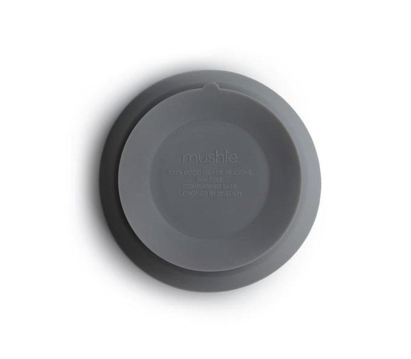 Mushie siliconen kom met zuignap - Stone