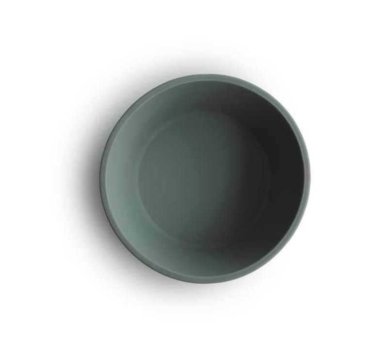 Mushie siliconen kom met zuignap - Dried Thyme