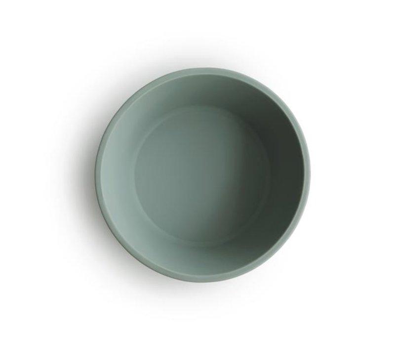 Mushie siliconen kom met zuignap - Cambridge Blue