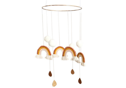 Cotton Design mobile Regenbogen