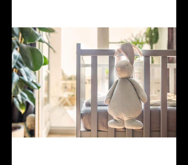 Moonie hug heartbeat and light Bunny Cream