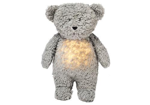 Moonie umarmt Herzschlag und helles Bärenmineralgrau