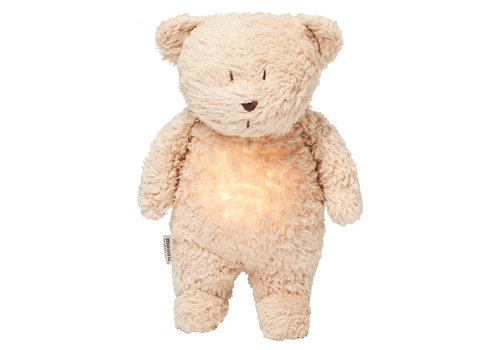 Moonie hug heartbeat and light Bear Sand