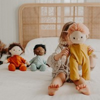 Olli Ella Dinkum Doll Pajama - Honey