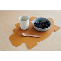 Liewood Tracy placemat Dino mustard
