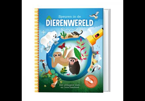 Boek Speuren in de dierenwereld (zaklampboek)