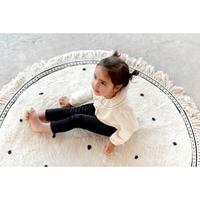 Tapis Petit vloerkleed Anna dots cream - 110x110