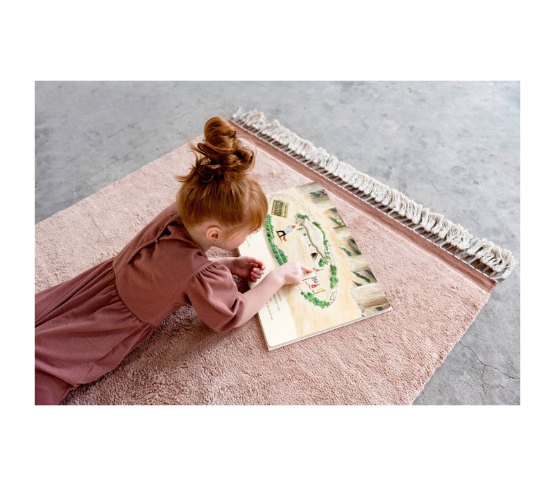 Tapis Petit rug Julie pink - 120x170