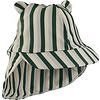 Liewood Senia zonnehoedje stripe garden green/sandy/dove blue