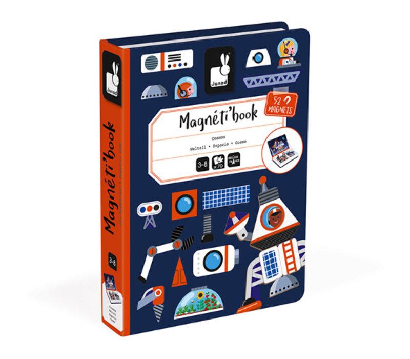 Janod magneetboek heelal