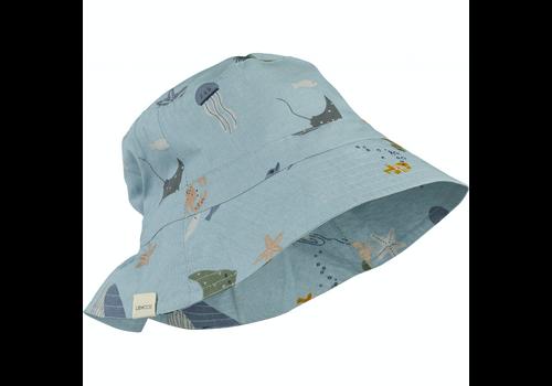 Liewood sun hat Sander bucket Sea creature mix