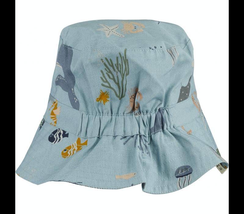 Liewood zonnehoedje Sander bucket Sea creature mix