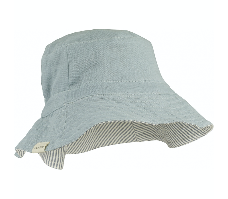 Liewood zonnehoedje Buddy bucket Sea blue