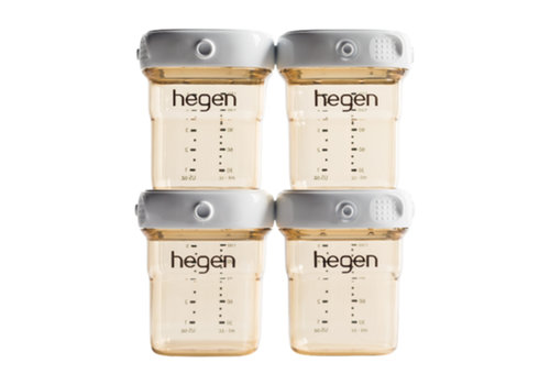 Hegen Breastfeeding storage trays - 150ml (4-pack)