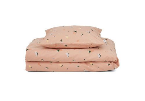 Liewood Carl duvet cover fruit pale tuscany adult