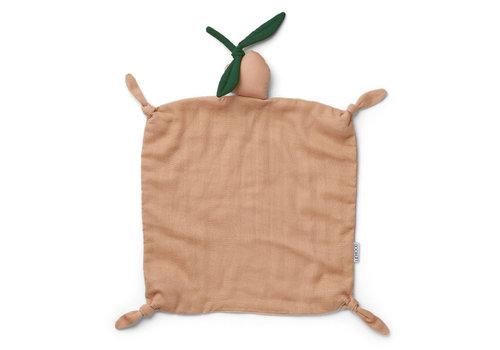 Liewood Agnete knuffeldoekje peach