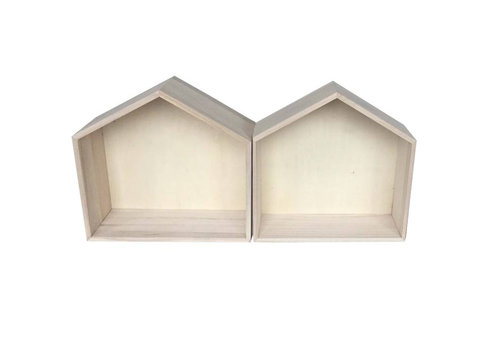 Wall houses medium large - 2 pieces