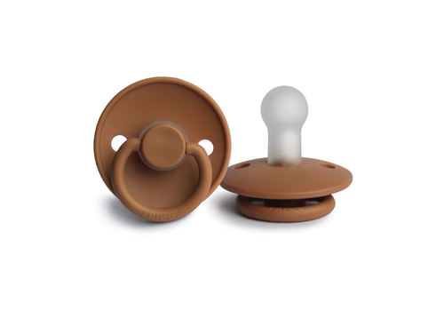 FRIGG Classic pacifier silicone - honey gold - Copy
