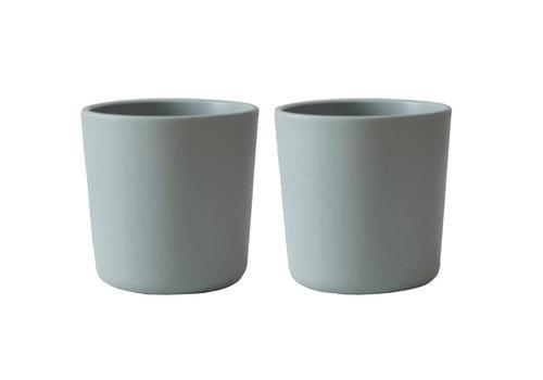 Mushie cups - Sage