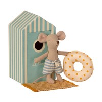 Maileg beach mouse little brother in beach house
