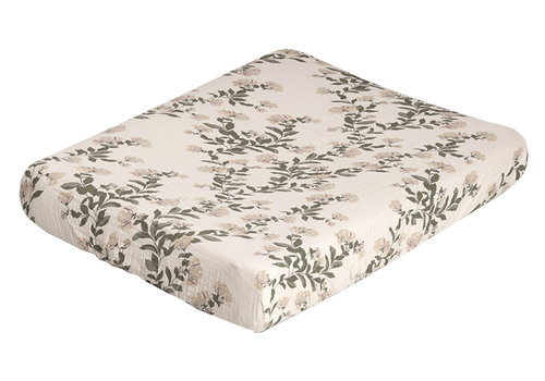 Garbo&Friends changing pad cover - Honeysuckle