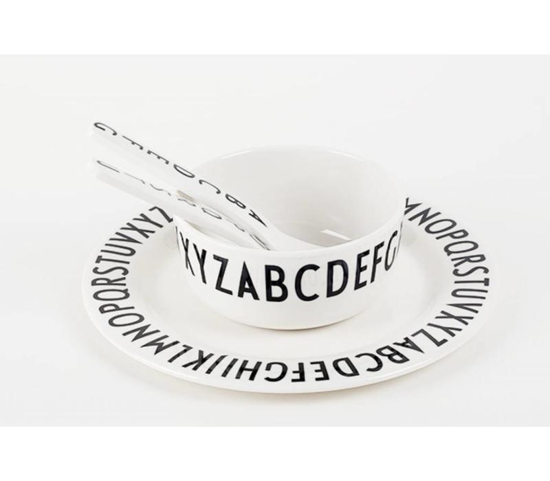 Design Letters melamine bord plat