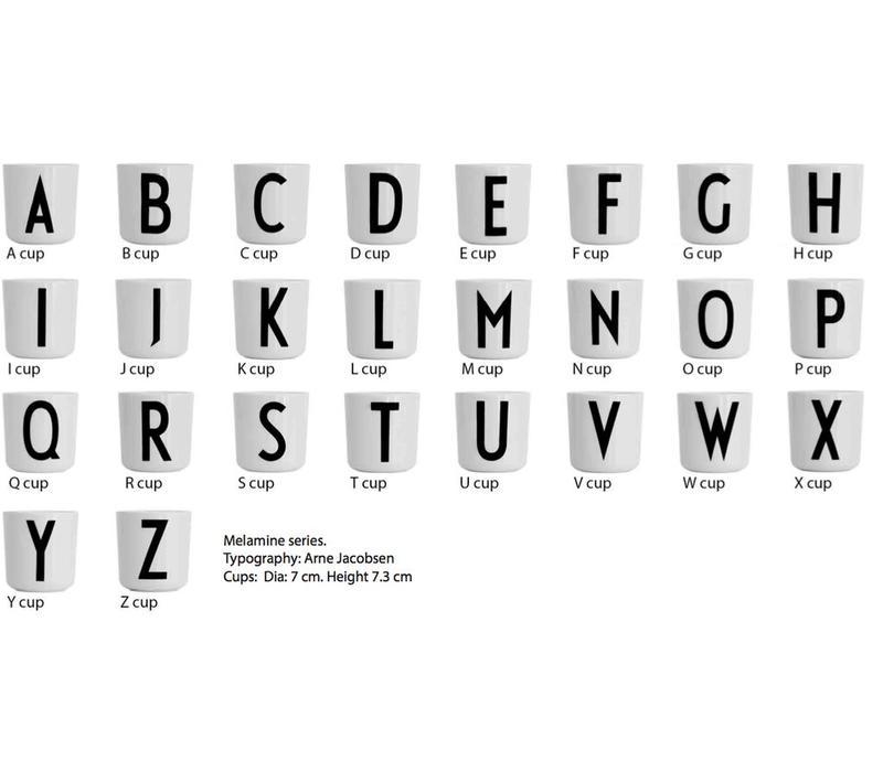 Design Letters Melamin Tasse