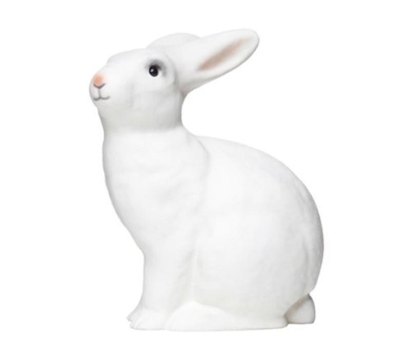Heico rabbit lamp white pink snout
