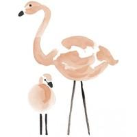 Lilipinso muurstickers flamingo XL