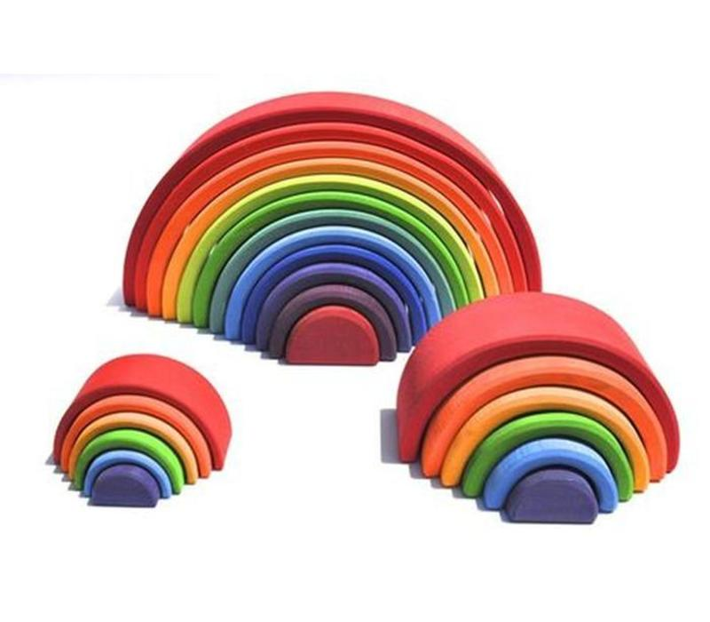 Grimm's Toy's medium rainbow
