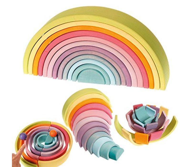 Grimms Toy große Pastellregenbogen