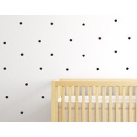 Mrs Strawberry wall stickers paint dots