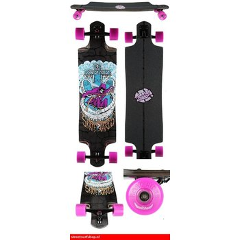 "Santa Cruz Santa Cruz Death Pool 38.3"" Drop Through Longboard"