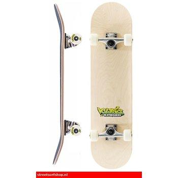 Voltage Voltage Graffiti Logo Yellow Skateboard