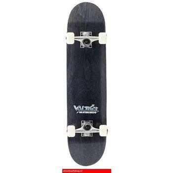 Voltage Voltage Graffiti Logo Black Skateboard