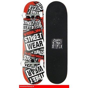 Vision Geschichte Collage Red Skateboard