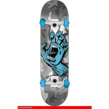 Santa Cruz Skateboard Screaming Hand Camo 7.25''