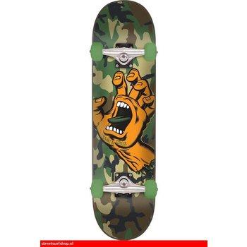 Santa Cruz Skateboard Screaming Hand Camo 6.75''