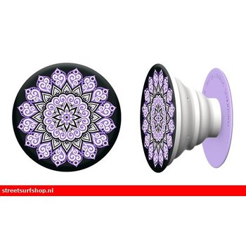 PopSockets PopSocket Mandala Peace Purple