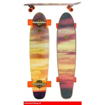 """Globe Globe Sundown 41"""" kicktail longboard"""