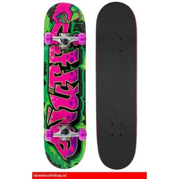 "Enuff Enuff Graffiti 31"" skateboard Green / Purple"