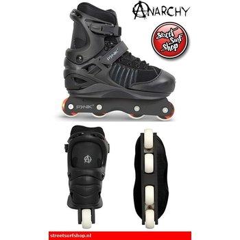 8f8c09e8576 Anarchy Anarchy Panik Verstelbare Stunt Skates 34-38