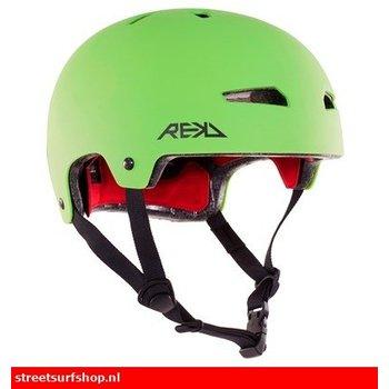 REKD REKD Helm Groen Zwart
