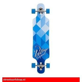 Voltage Spannung DT longboard Blaue Schatten