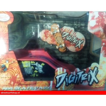 Toyrific Digitrix Mini Finger doubledrop & skateboard playset