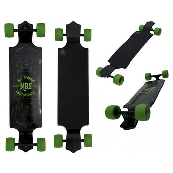 Atom Atom all terrain drop deck Longboard 39""