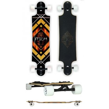 Atom Atom 38 inch Woody Diamond drop longboard