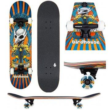 """Birdhouse Birdhouse Stage 3 Emblem Circus 7.75"""" orange skateboard"""