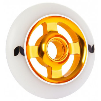 Blazer Pro Blazer Pro 100mm Aluminium Core Stuntstep Wiel Wite/Gold