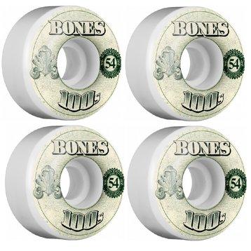 Bones Bones 100's Skateboard Wielen 54mm Natural